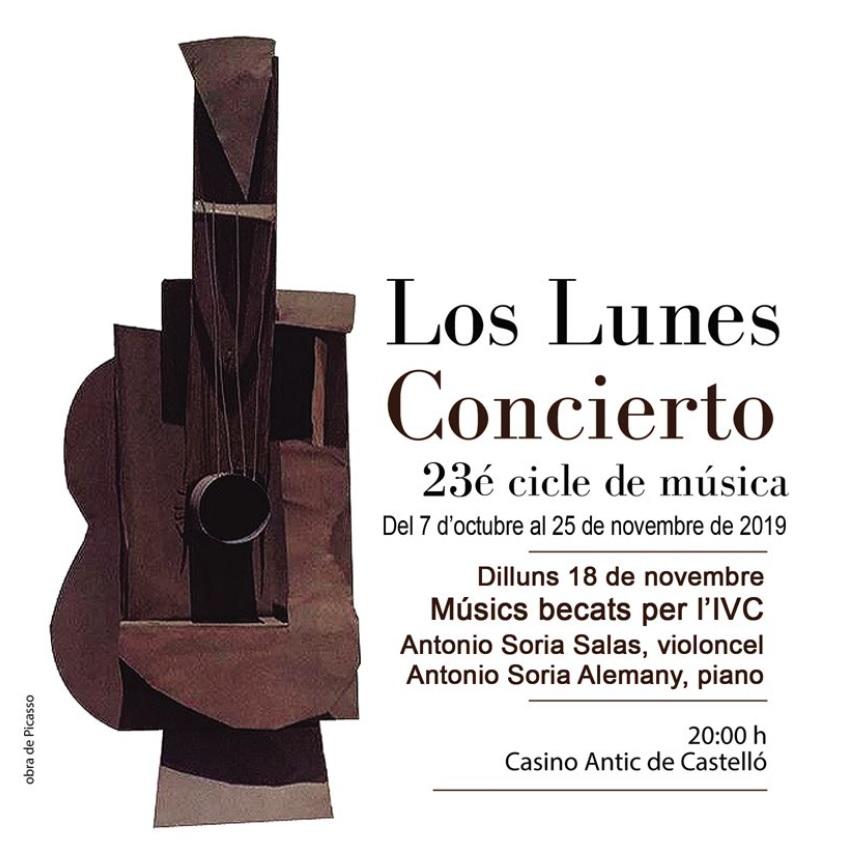 Cartel lunes concierto -18 nov