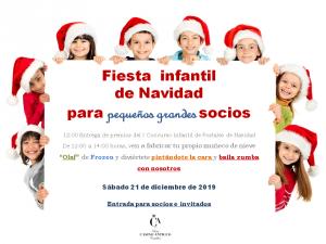Fiesta infantil Navidad 2019-niños