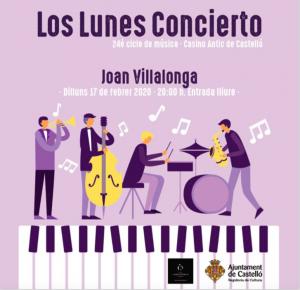 Los lunes concierto_Joan Villalonga