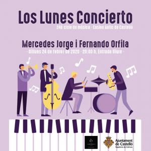 MERCEDES JORGE-LOS LUNES CONCIERTO