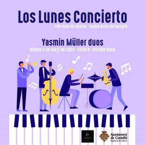actuacion Yasmin Müller Los lunes concierto