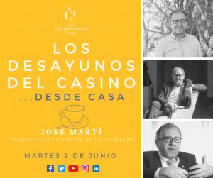 LOS DESAYUNOS DEL CASINO-presidente Diputación