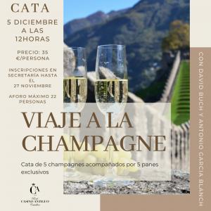 Cata Real Casino Antiguo Viaje a la champagne