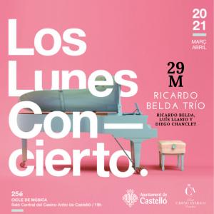 Los lunes concierto-Ricardo Belda TRío