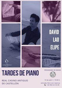 concierto piano david lao elipe